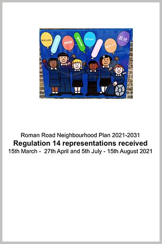 Regulation 14 Representations Summary